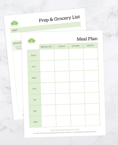 6 Simple Steps to Pain-Free Meal Planning