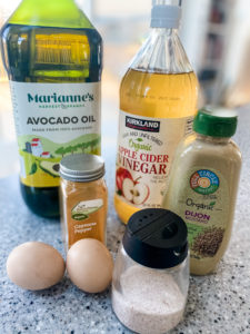 Clean Mayo Recipe Ingredients